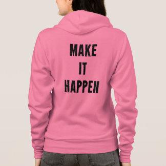 Den rosa konditionmotivationen gör det att hända t-shirt