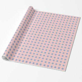 Den rosa kvart- och Serenitypolkaen pricker Presentpapper