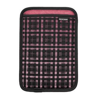 Den rosa och svart moderna plädet förtjänade Ombra