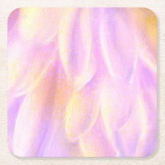 Den rosa Petalsanpassningsbar kvadrerar underlägg