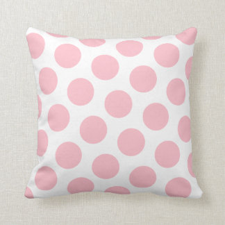 Den rosa polkaen pricker kudde
