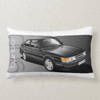 Den Saab 900 Turbo coupen dämpar Lumbarkudde