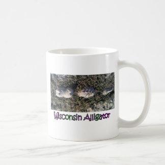 Den sällsynta Wisconsin alligatorn Kaffemugg