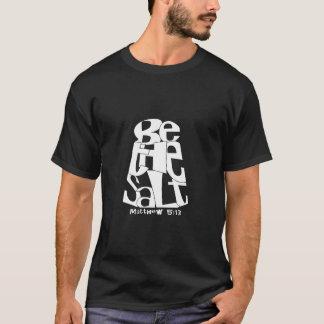 Den salt fabriken - var den salt (mörk) t-shirt
