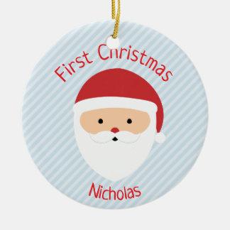 Den Santa julprydnaden - välj din färg! Julgransprydnad Keramik