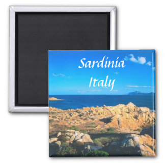 Den Sardinia italien reser souvenirkylmagneten