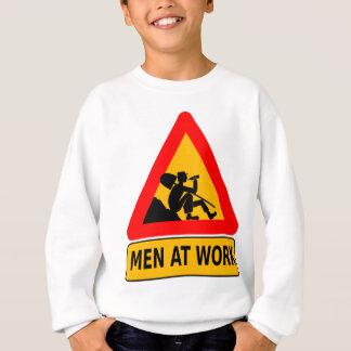 Den sarkastiska manar på arbete varnar t shirt