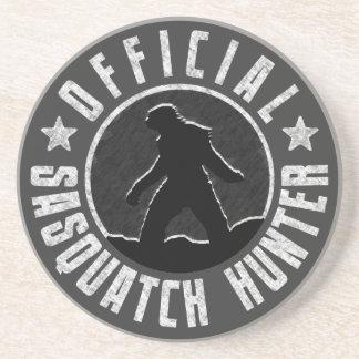 Den Sasquatch JÄGAREN cirklar logotypen Underlägg Sandsten