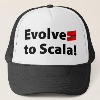 Den Scala hatten, Evolve logotypen Keps
