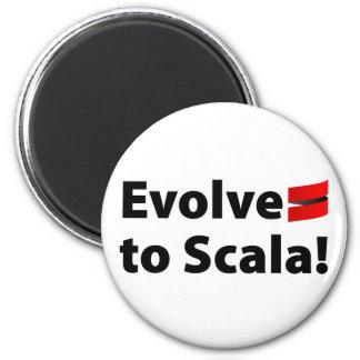 Den Scala magneten, Evolve logotypen Magnet