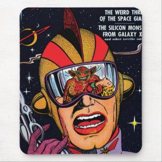 Den Sci Fi för vintage för utrymmehandlingen #2 Mus Matta