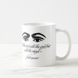 Den Shakespeare muggen, kärlek ser inte med ögon Kaffemugg