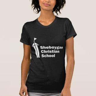 Den Sheboygan kristen skolar vit Tröja