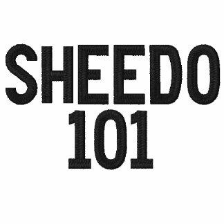Den Sheedo broderade T-tröja