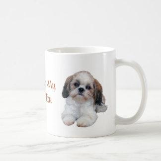 Den Shih Tzu valpmuggen älskar Kaffemugg