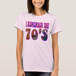 Den Shirt. för 70-tal T Tee