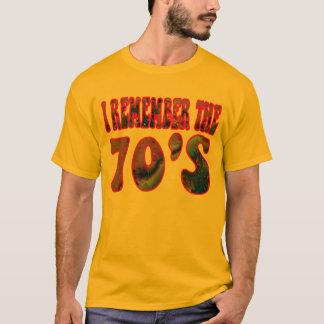 Den Shirt. för 70-tal T Tee Shirt