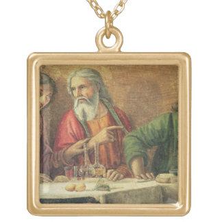 Den sist kvällsmålet, 1480 (frescoen) (specificera guldpläterat halsband