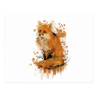 Den sist räven vykort