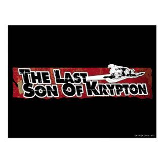 Den sist sonen av Krypton Vykort