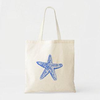Den sjöstjärna-/för elkraft Blue/DIY välkomnandet Tygkasse