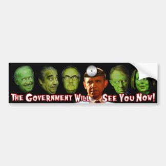 Den ska regeringen ser dig nu!  Dr. Obama Bildekaler