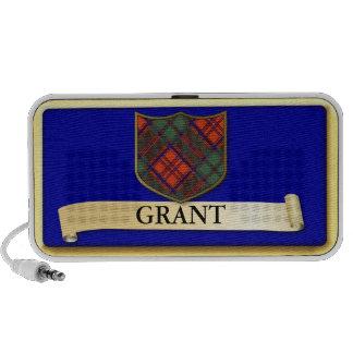 Den skotska Tartandesignen - lån - personifiera Skrivbordshögtalare