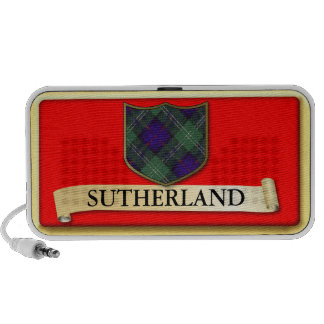 Den skotska Tartandesignen - Sutherland - personif Laptop Speakers