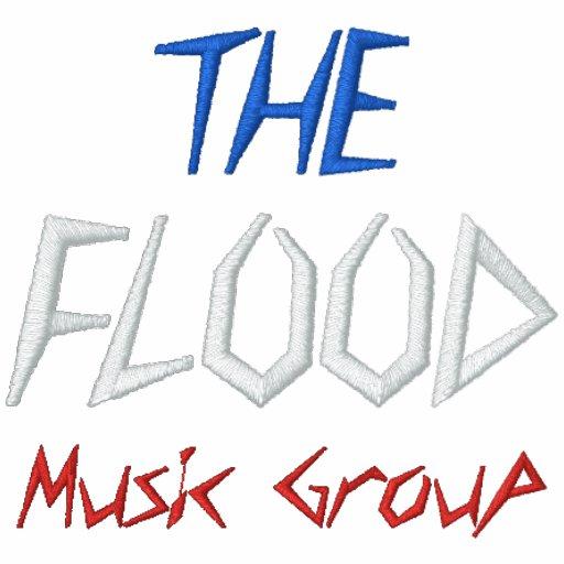 Den skräddarsy flodmusikgruppen -…, - Skräddarsy Broderade Luvtröjor