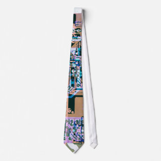 den skraj elkraften går runt stiger ombord abstrak slips