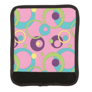 Den skraj rosan cirklar bagagehandtagsjalen handtagsskydd