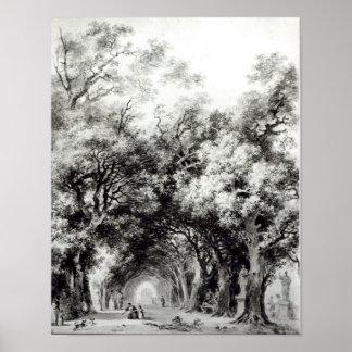 Den skuggiga gränden, c.1773-74 poster