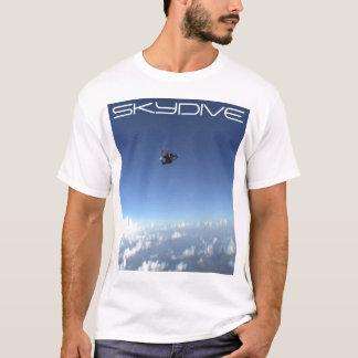 den skydiving skydive fallskärmen fördunklar t-shirt