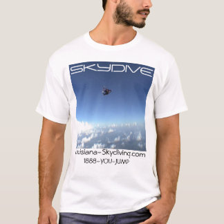 den skydiving skydive fallskärmen fördunklar tee