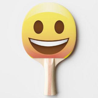 Den smiley faceEmoji pingen Pong paddlar Pingisracket