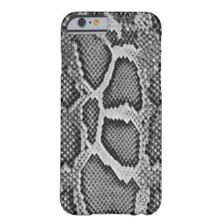 Den Snakeskin designen, orm flår mönster Barely There iPhone 6 Fodral