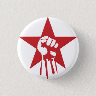 Den socialistiska näven knäppas mini knapp rund 3.2 cm