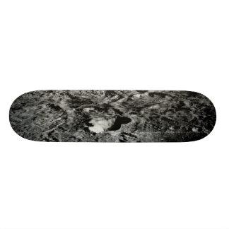 Den sol- systemvoyageren avbildar Lunar yta Skateboard Bräda 19,5 Cm
