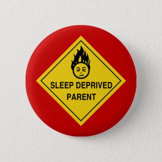 Den sömn berövade föräldern knäppas standard knapp rund 5.7 cm