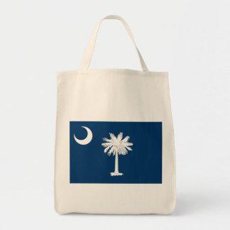 Den South Carolina statlig flagga hänger lös Mat Tygkasse