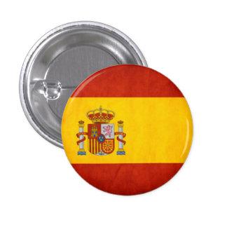 Den Spanien flagga knäppas Nål