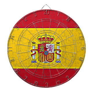 Den SPANIEN FLAGGApilen stiger ombord Piltavla