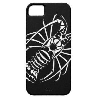 Den Spiny humret täcker i svartvitt iPhone 5 Cover