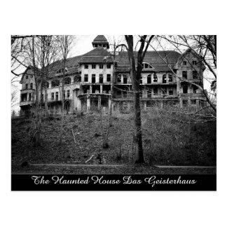 Den spökade vykortet för husDas Geisterhaus Vykort
