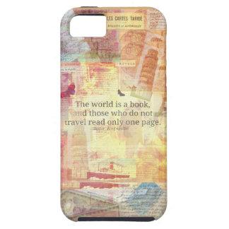 Den St Augustine världen är en bok reser iPhone 5 Hud