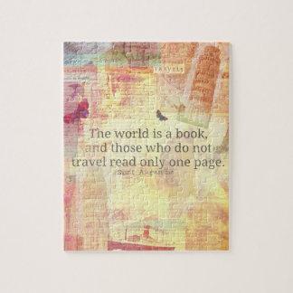 Den St Augustine världen är en bok reser Pussel