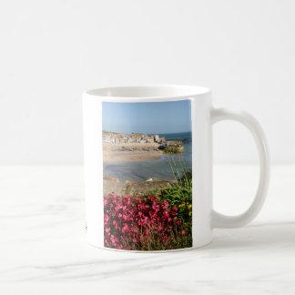 Den St Ives hamnrosan blommar klassikermuggen Kaffemugg