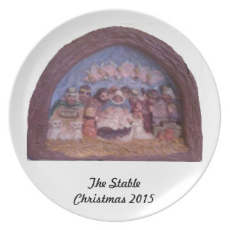 """DEN STABILA JULEN 2015 "", TALLRIK"