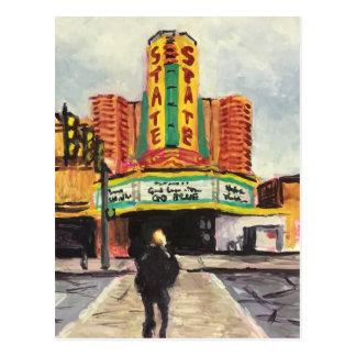 Den statliga teatern Ann Arbor Vykort
