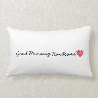 Den stiliga bra morgonen kudder lumbarkudde